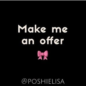 All offers always welcome 🎀
